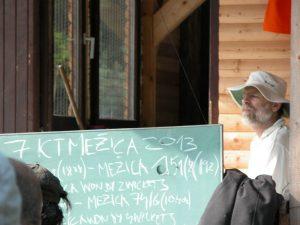Borut Cegovnic keeping score in 2013